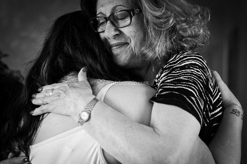 Abbraccio nonna