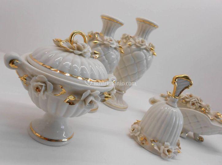Matrimonio Tema Napoletano : Porcellane artistiche di capodimonte