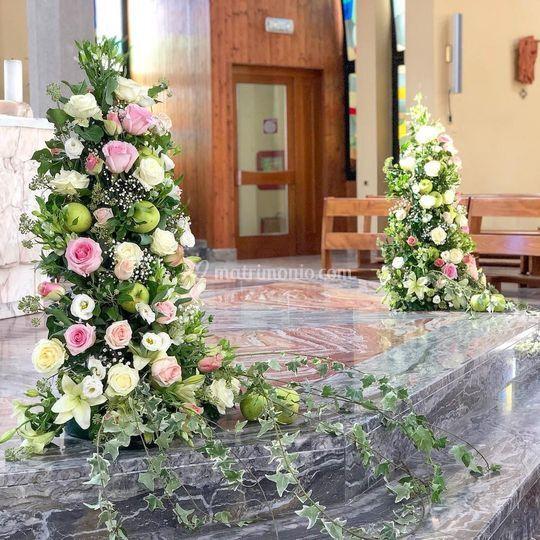 Composizioni fiori matrimonio