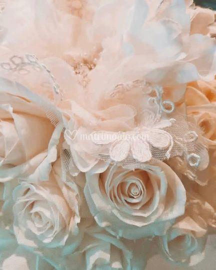 Bouquet rosa cipria