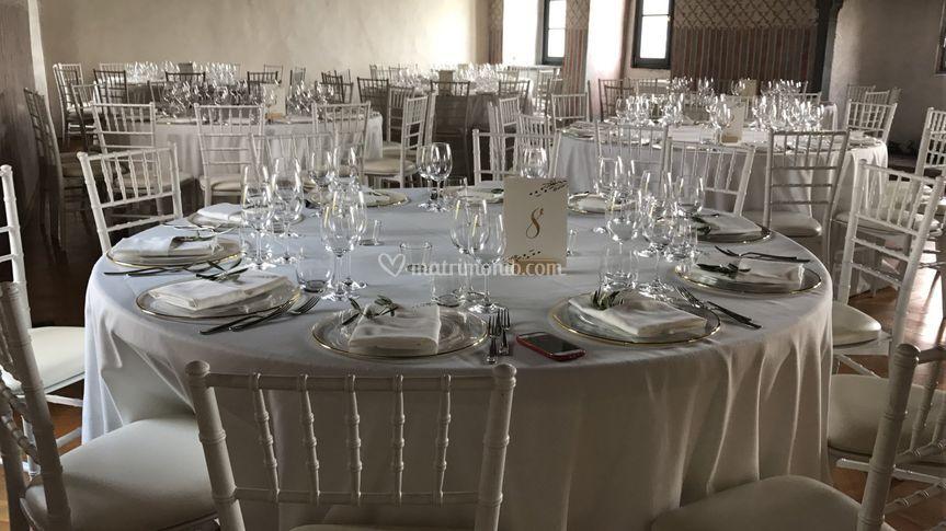 Sala castello di Clusane