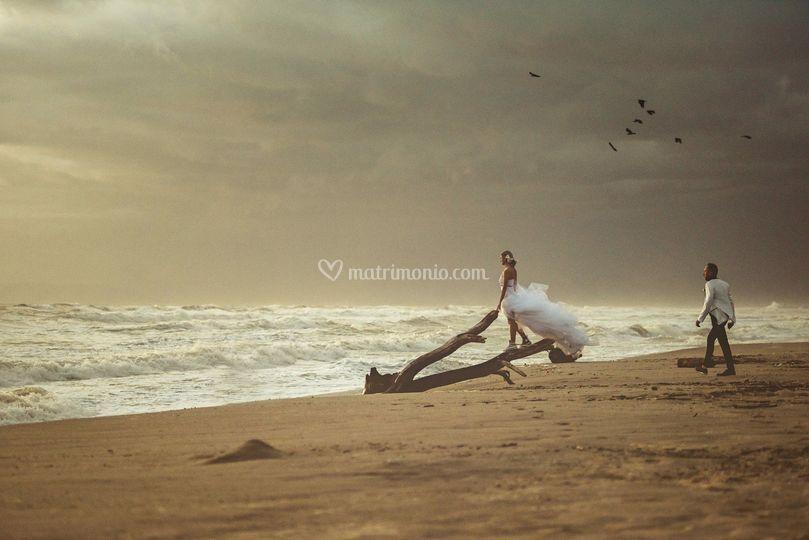 Foto in riva al mare