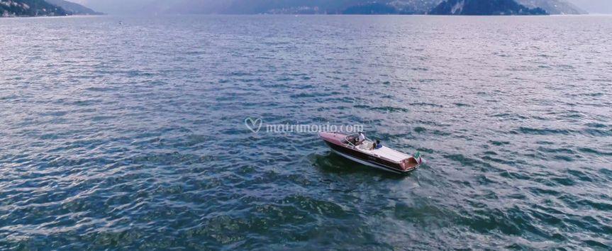 Motoscafo lago di Garda