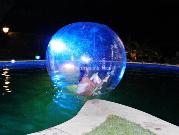 Spettacolo in piscina