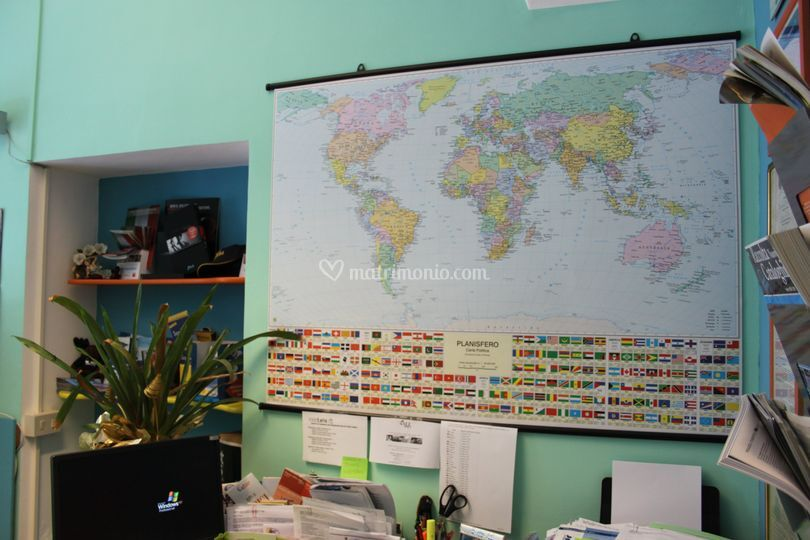 Il mondo in agenzia di viaggi