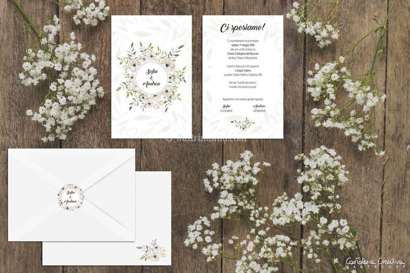 Wedding stationery - dettaglio