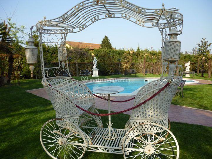 La carrozza - la piscina