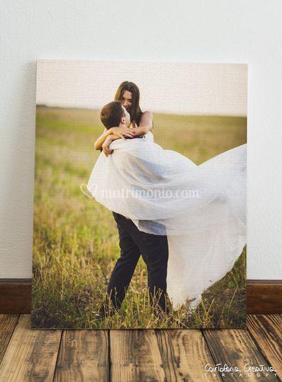 Foto stampata su canvas