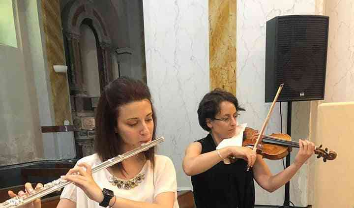Organo violino flauto soprano