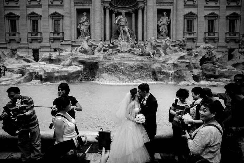 Sposi Fontana di Trevi