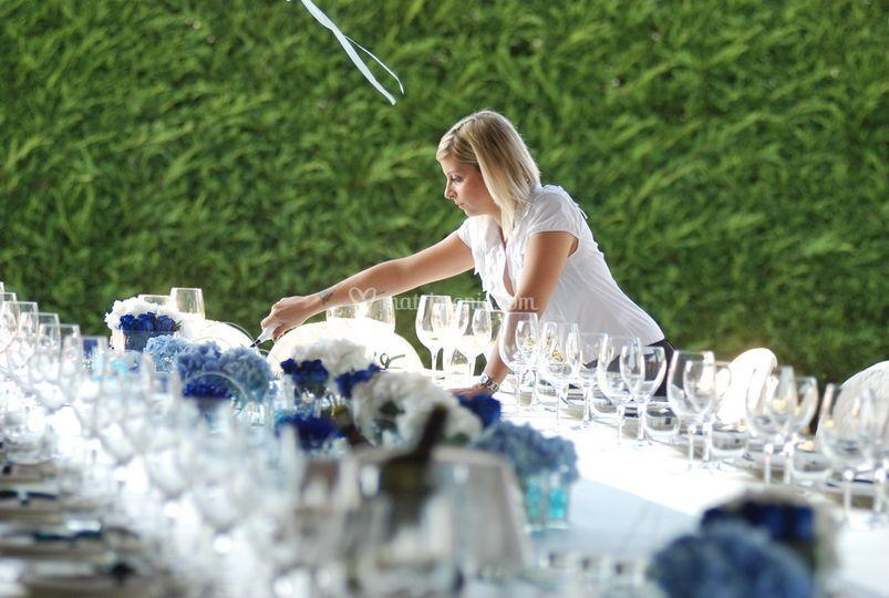 Wedding planner al lavoro