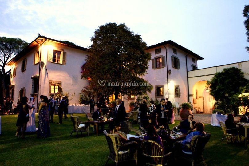 Villa Dianella by night