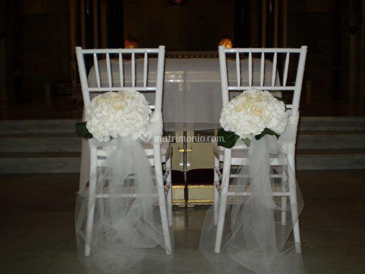 43 sedie degli sposi di gipsy fiori foto 39