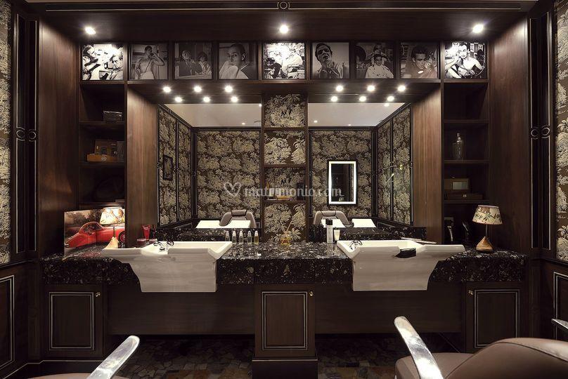 Barber room