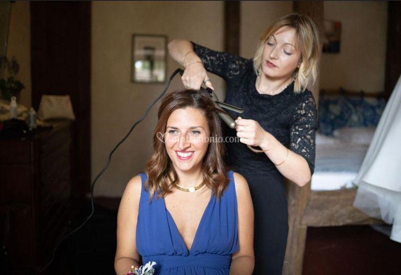 Hair for Bridesmaids