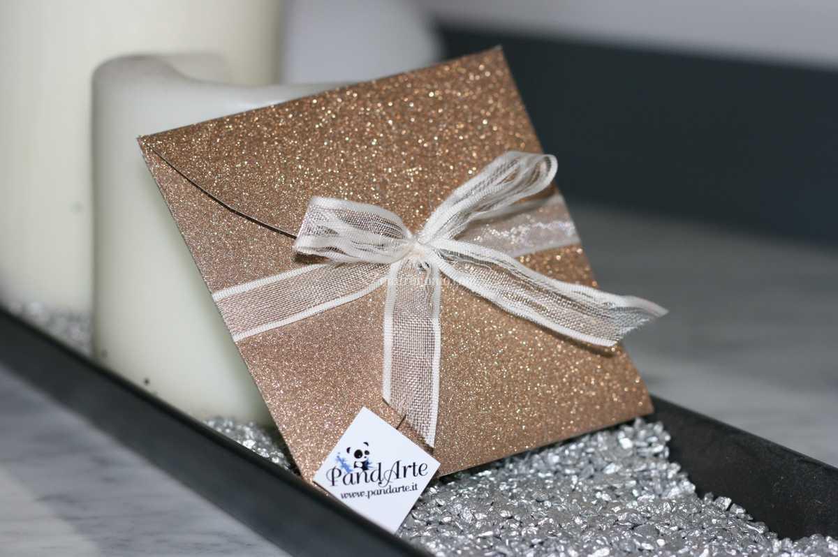 Partecipazioni Matrimonio Glitter.Partecipazione Fiore Glitter Di Pandarte Foto 44