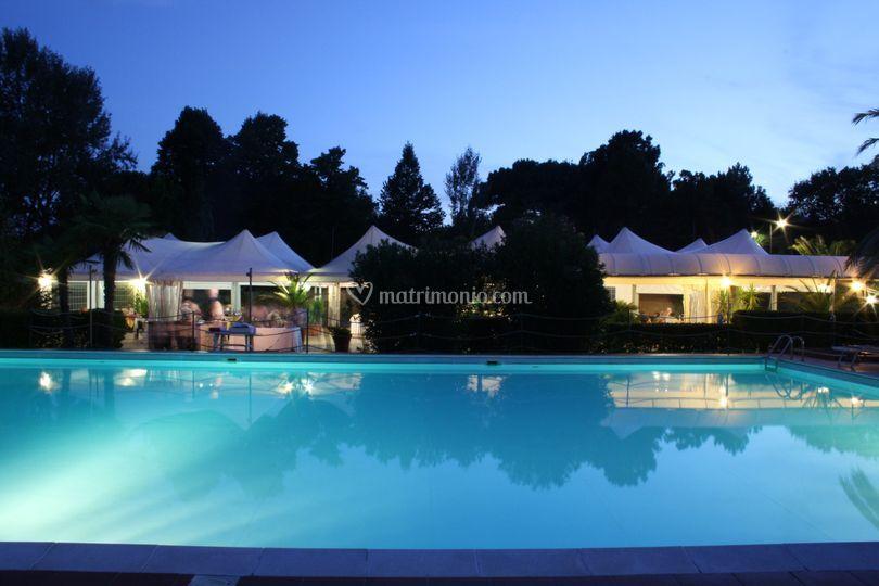 Ricevimenti Matrimoni Toscana : Sala ricevimento di park hotel cinquale foto