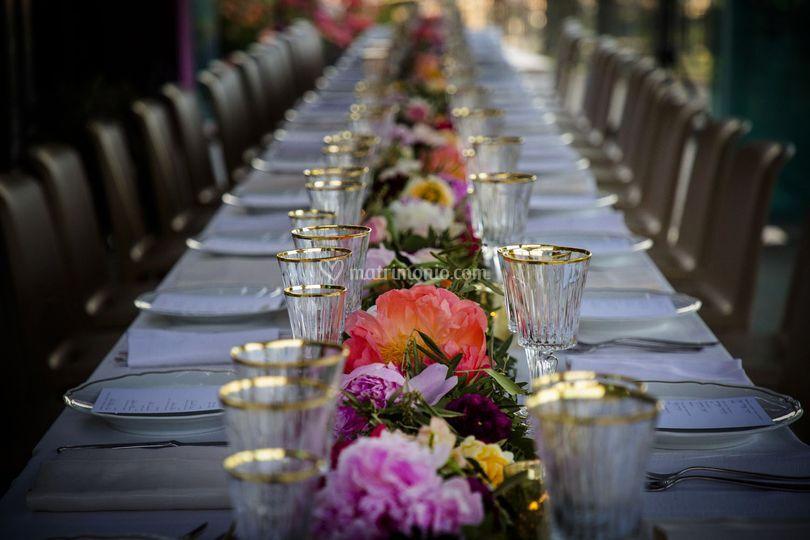 Tavolo lungo
