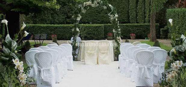 Violamalva for Decorazione giardino matrimonio