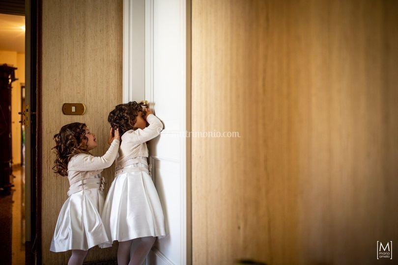 Michela e Andrea - Backstage