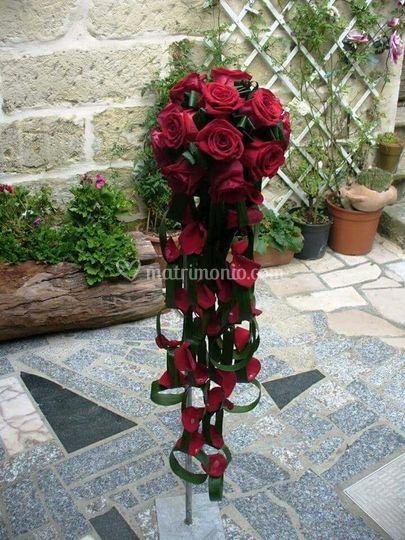Bouquet rosse rosse