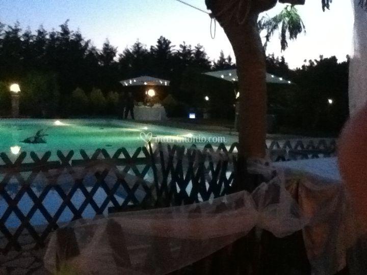 A bordo piscina