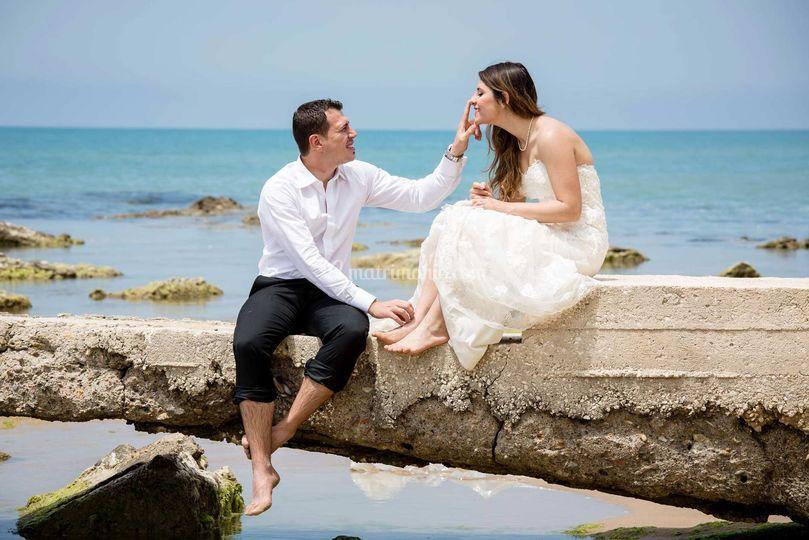 Distruggi abito sposi