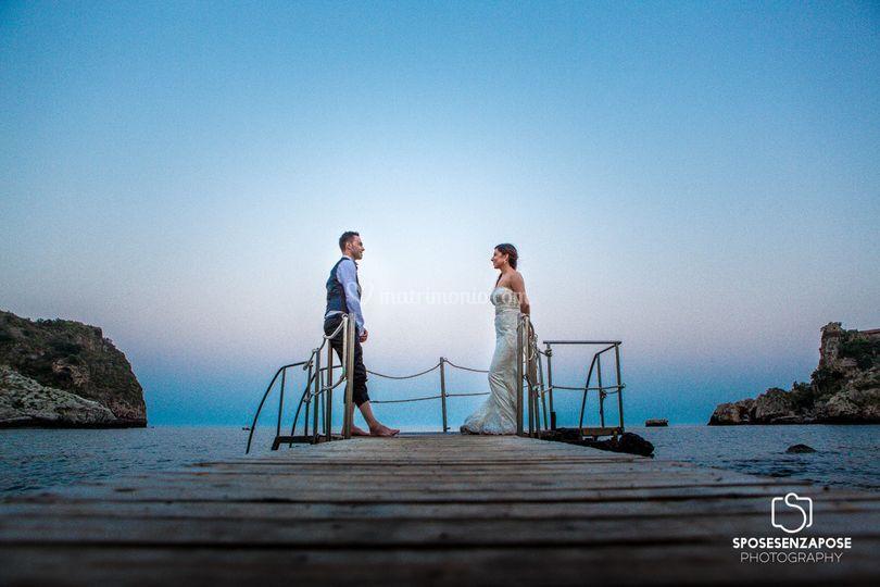 Sposi isola bella