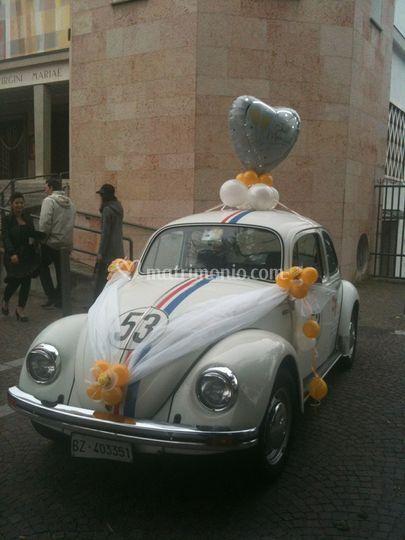 Herbie versione matrimonio