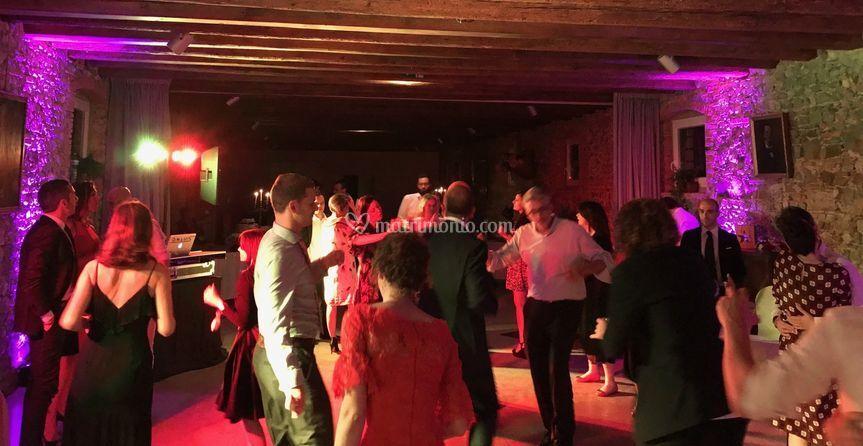 Luci e festa Villa Elodia