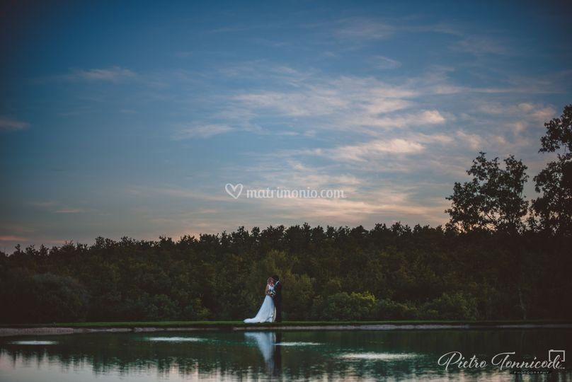 Laghetto - tramonto