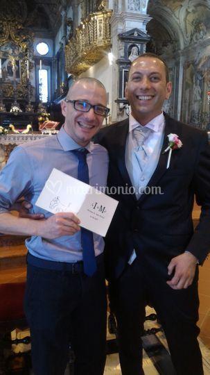 Foto con lo sposo (Piacenza)