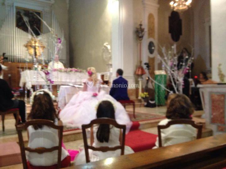 Wedding pink