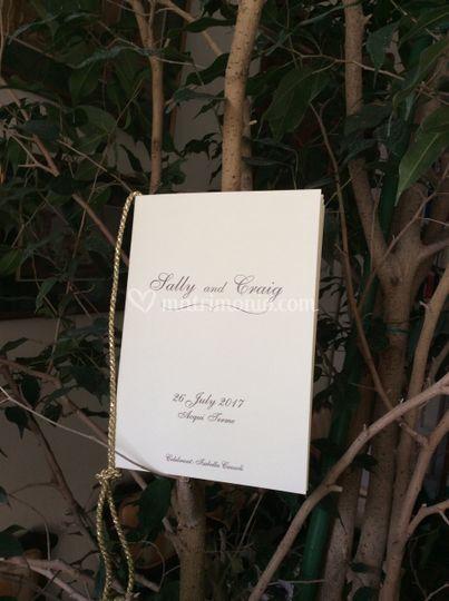 Libro cerimonia
