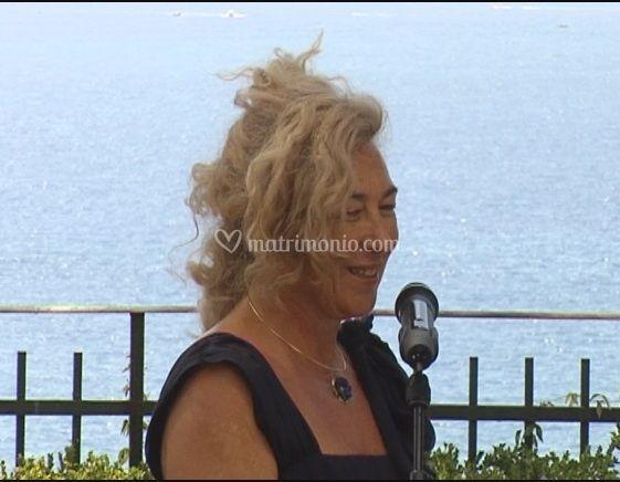 Isabella a Villa Dufour-Genova