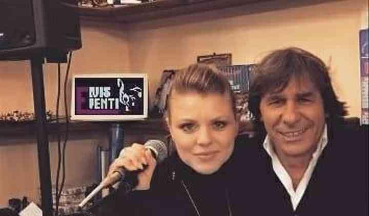 Anjelica e Bruno Conti