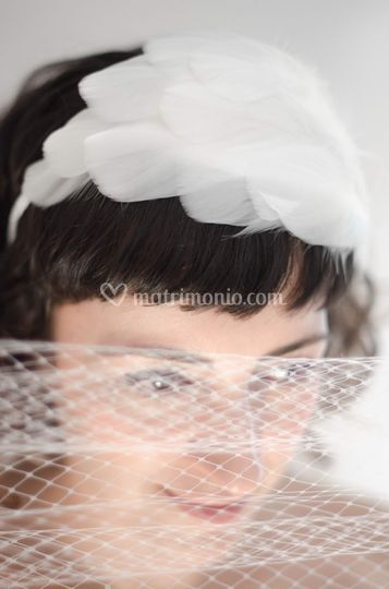 Plume headband