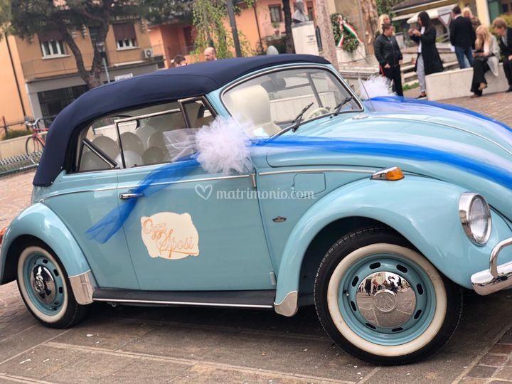 8cc66ca66b93 Eric Maggiolino Cabrio Azzurro W gli sposi