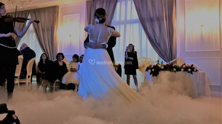 Primo ballo effetto nuvola