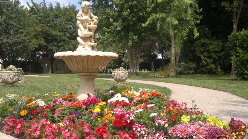 Scultura giardino