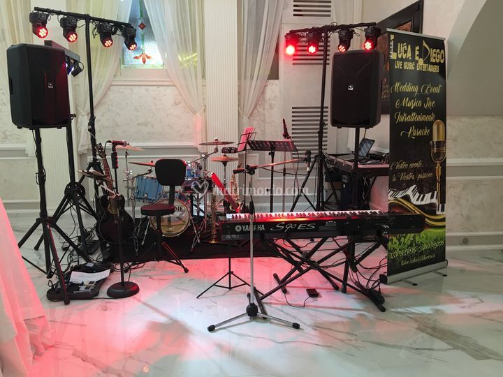 Setup Live Band
