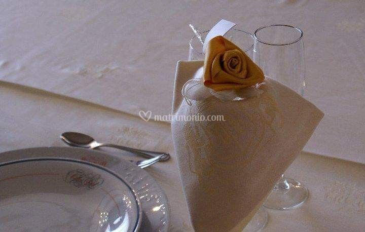Rose segnaposto