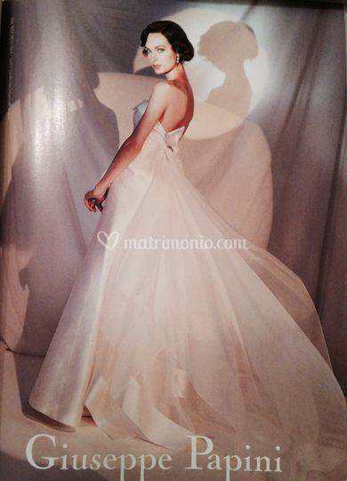Trucco sposa per Vogue