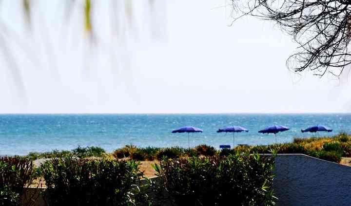 Vista mare dall'hotel