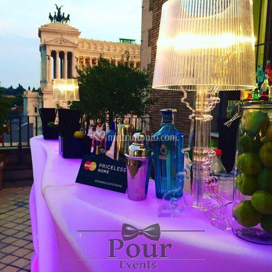 Terrazza Civita Mastercard di Pour Events | Foto 16