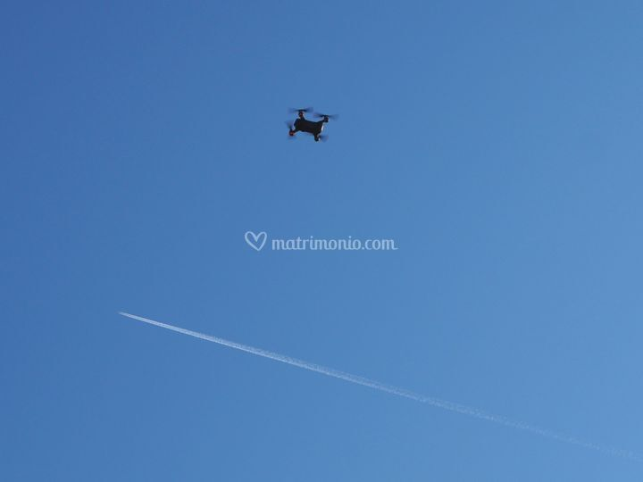 Riprese aeree da drone