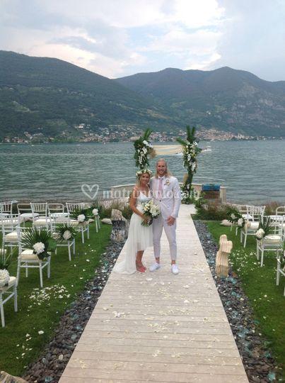 Cerimonia a lago
