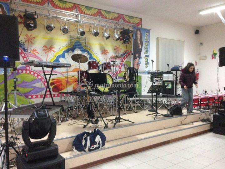Montaggio orchestra