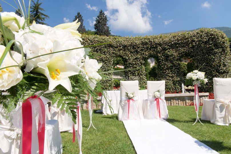 Matrimonio In Loco : Villa restaurant la palma