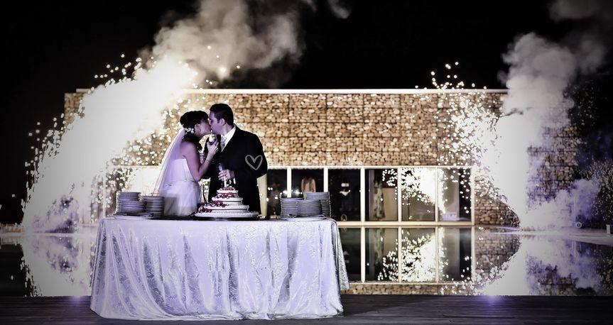 Acqua,fuoco...sposi!